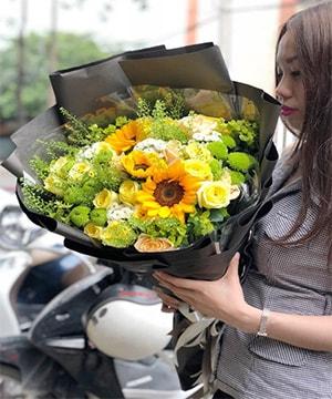 Bó hoa tươi HSB011
