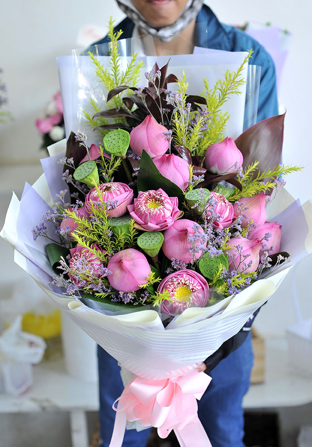 Bó hoa tươi HSB001