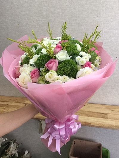 Bó hoa tươi HSB002