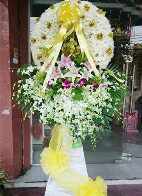 Hoa viếng đám tang HS020