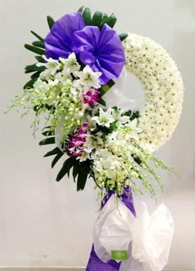 Hoa viếng đám tang HS028