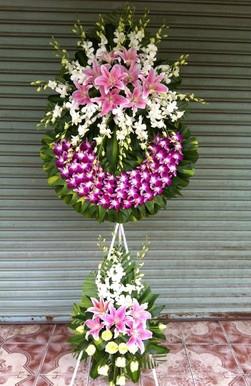 Hoa tang lễ HS004