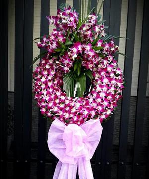 Hoa viếng đám tang HS024