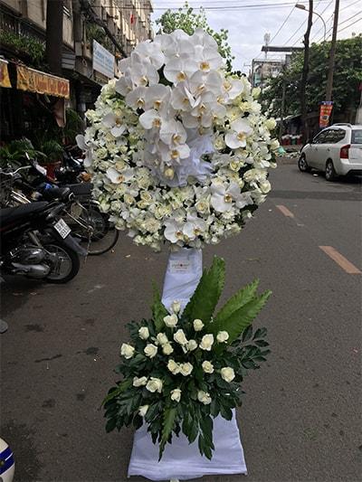 Hoa tang lễ HS005
