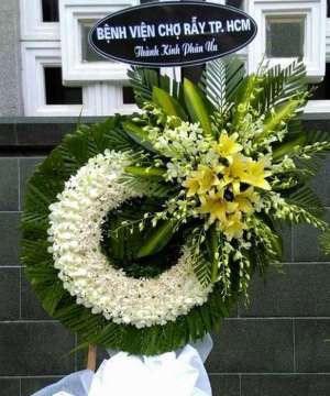 Hoa viếng tang lễ HS001
