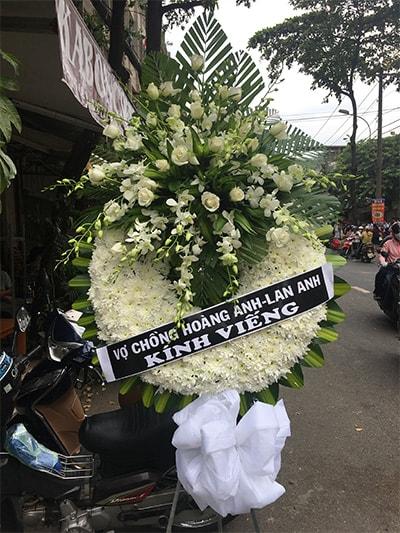 Hoa viếng đám tang HS025