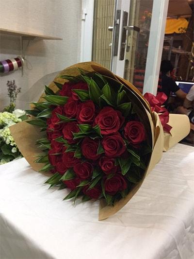 Bó hoa tươi HSB009