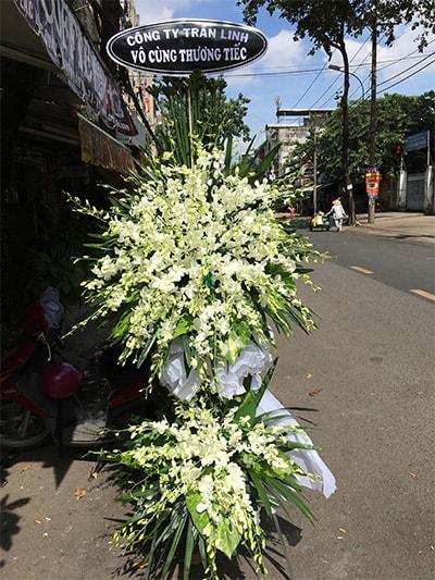 Hoa viếng đám tang HS026