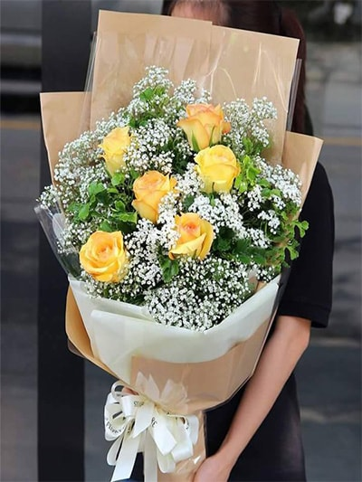 Hoa tặng bạn gái HBG009