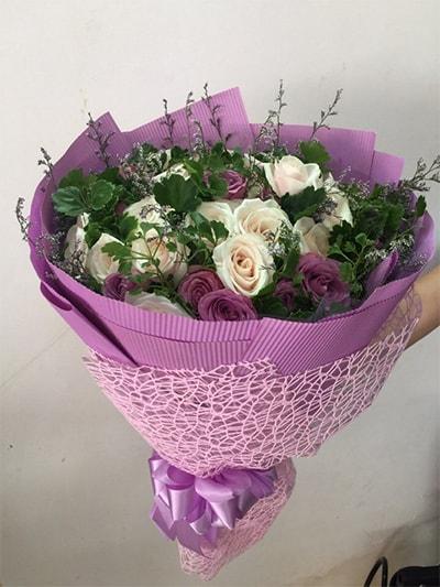 Bó hoa tươi HSB008