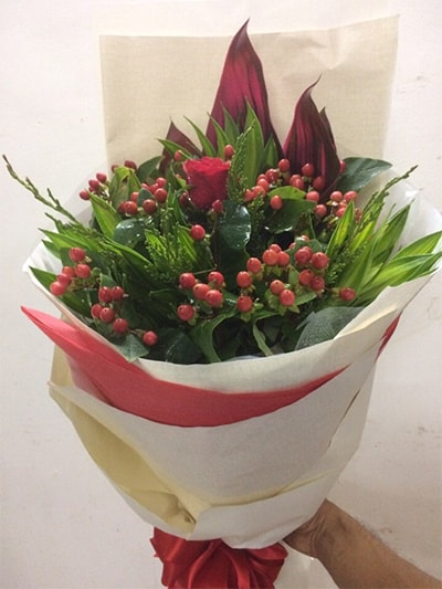 Bó hoa tươi HSB004