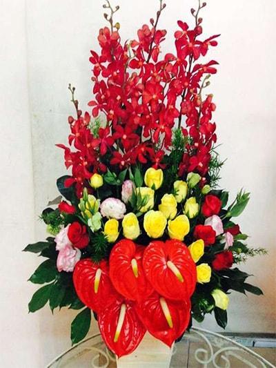 Hộp hoa tươi HSH004