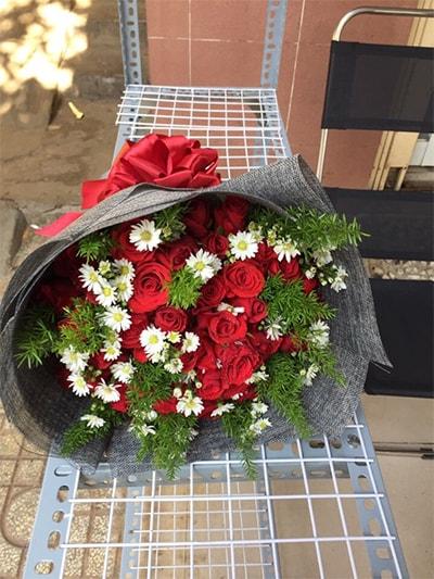 Bó hoa tươi HSB007