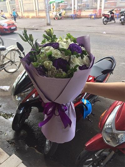Bó hoa tươi HSB005