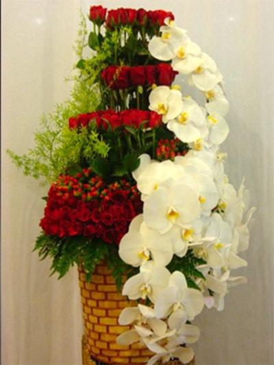 Bình hoa tươi HSB001
