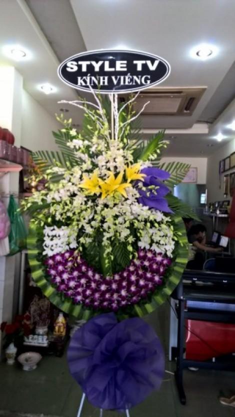 Hoa viếng đám tang HS023